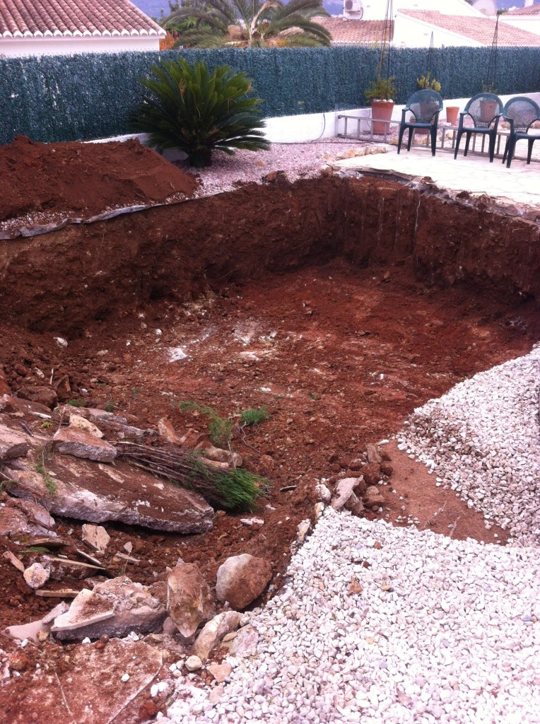 Excavation finished