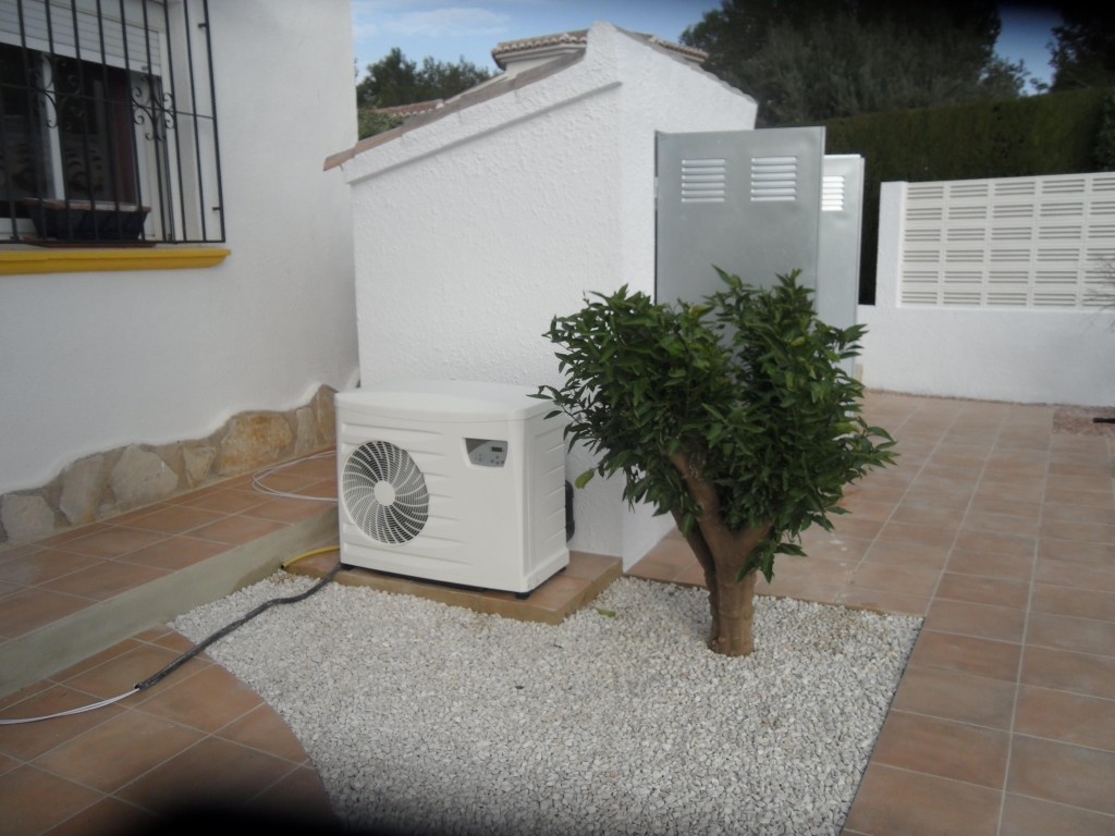 Pool Heater installed by Pool Fix in Javea.