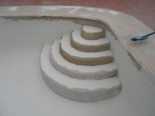 Javea swimming pool restoration
