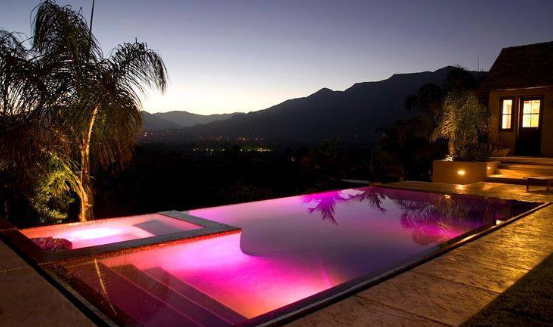 Colored LED Lighting in Javea