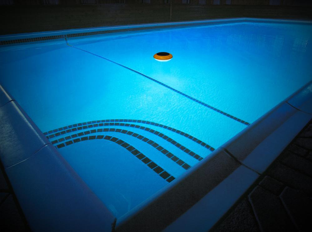 Floating LED Swimming Pool Light in Denia